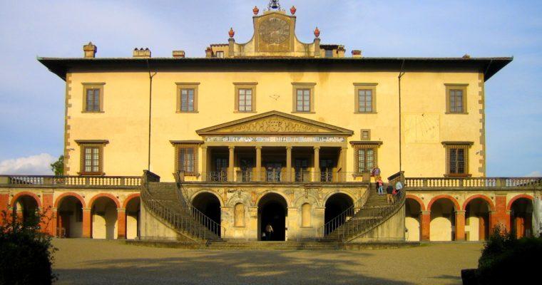 FRANCESCO I DE' MEDICI, TRA GIOVANNA D'AUSTRIA E BIANCA CAPPELLO. A POGGIO A CAIANO L'ASSEDIO ALLA VILLA RIEVOCA IL REGALE MATRIMONIO DEL GRANDUCA NEL 1565